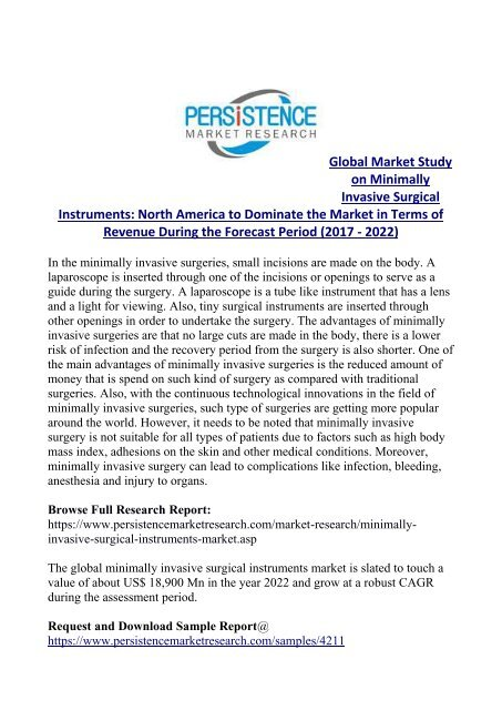 Minimally Invasive Surgical Instruments Market Trends and