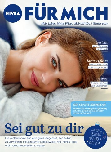 NIVEA FÜR MICH Magazin – Winter 2017
