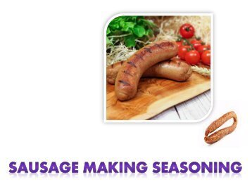 Sausage Spices and Seasonings