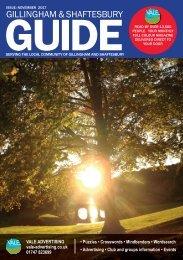 Gillingham & Shaftesbury Guide November
