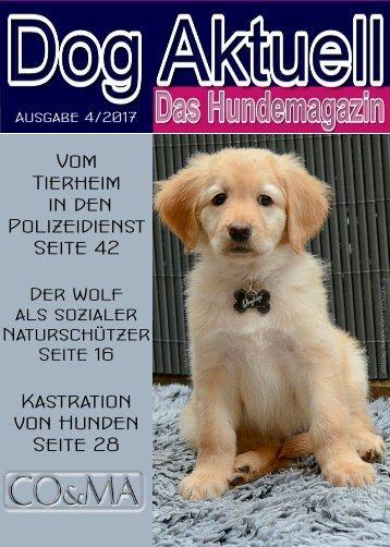 Dog Aktuell Das Hundemagazin 4-2017