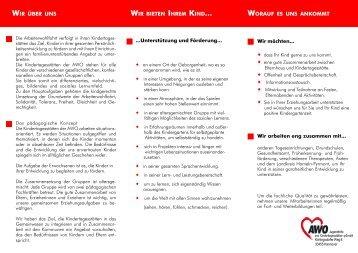 Hameln ÖFFNUNGSZEITEN AWO - AWO Jugendhilfe und ...