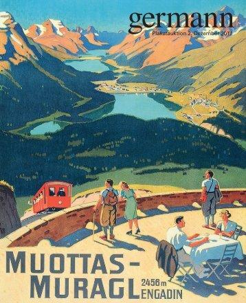 Plakat Auktion 2. Dezember 2017, Germann Auktionshaus, Zürich