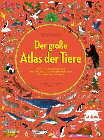 Der große Atlas der Tiere – Leseprobe