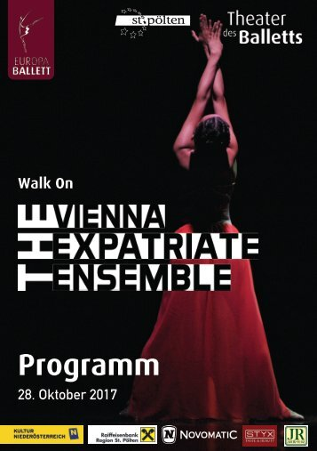 Programmheft Walk ON