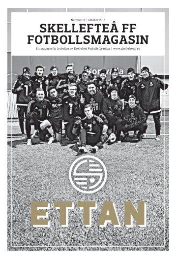 Skellefteå FF Fotbollsmagasin – 2017 #3