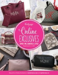 Thirty-One Online Only Exclusives