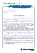 Projeto Redação 2017 - Ensino Fundamental 2 - Américas - Page 5