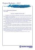 Projeto Redação 2017 - Ensino Fundamental 2 - Américas - Page 7