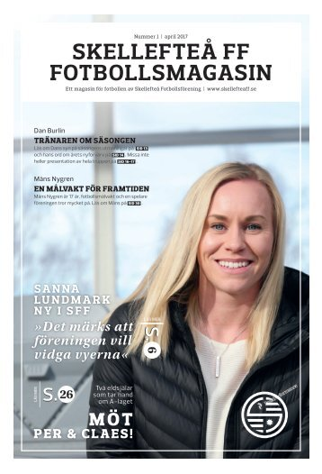 Skellefteå FF Fotbollsmagasin – 2017 #1