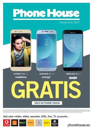 Catálogo PHONE HOUSE Noviembre 2017