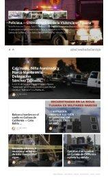 """Nota Policiaca en Tijuana; Toda La Violencia y Los Hechos Sangrientos Producto del Enfrentamiento entre Grupos delictivos por el control de la Plaza lo encuentras en """"POLICIACA"""", La Rioja Tijuana Residencial, Colinas de California, Coto Bahía"""