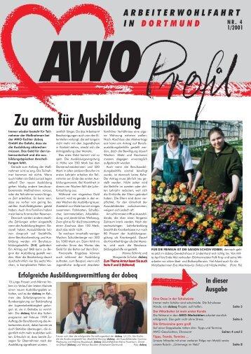 Zu arm für Ausbildung - AWO Dortmund