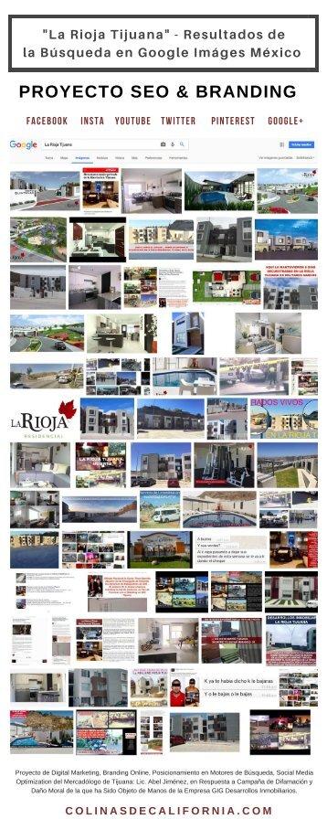 La Rioja Tijuana - Resultados de la Búsqueda del Keyword en el Motor de Google Images México - OCT 25, 2017 - 20Hrs PDT - Proyecto Digital del Lic. Abel Jiménez
