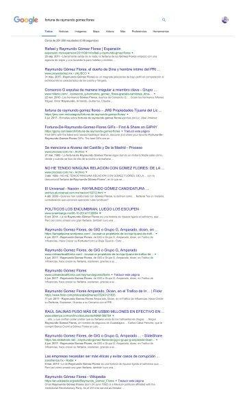 fortuna de raymundo gomez flores - Buscar con Google
