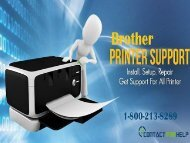 Brother printer support phone number 1-800-213-8289