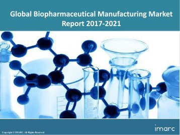 Global Biopharmaceutical Manufacturing Market Price Trends, Size, Share and Forecast 2017-2022