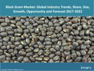 Global Black Gram Market Share, Size and Forecast 2017-2022