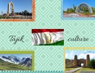 Tajikistan calture (1)