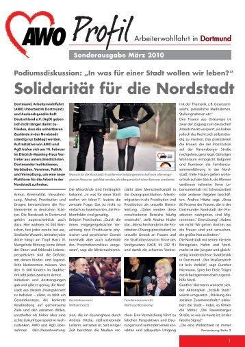Solidarität für die Nordstadt - AWO Dortmund
