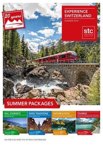 Experience Switzerland Summer 2018 / 2017