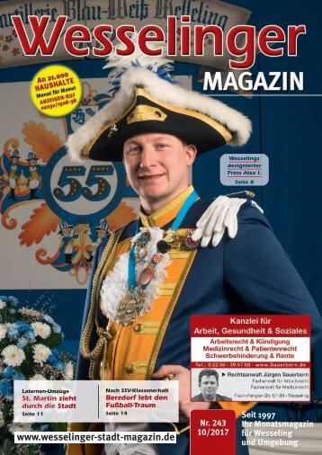 Wesselinger Stadt Magazin November 2017