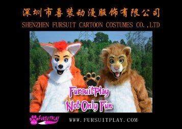 SHENZHEN FURSUIT CARTOON COSTUMES CO.,LTD-MOVING MOUTH SUIT