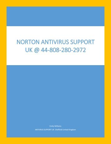 Norton Antivirus Customer Service UK 44-808-280-2972