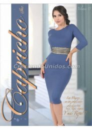 #615 Catálogo Capricho Volumen #13 La Ropa mas Femenina en USA