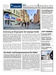 Hallesche Immobilienzeitung Ausgabe 68 November 2017