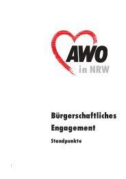in NRW Bürgerschaftliches Engagement Standpunkte