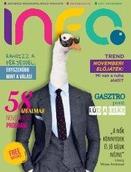 InfoPont Magazin 2017 NOVEMBER
