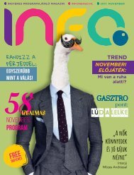 InfoPont Magazin 2017 NOVEMBER