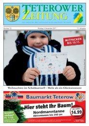 Teterower Zeitung 06.11.2017