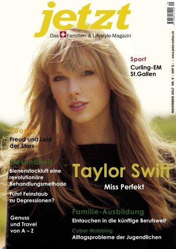 Jetzt – Das Schweizer Familien- & Lifestyle Magazin – November 2017