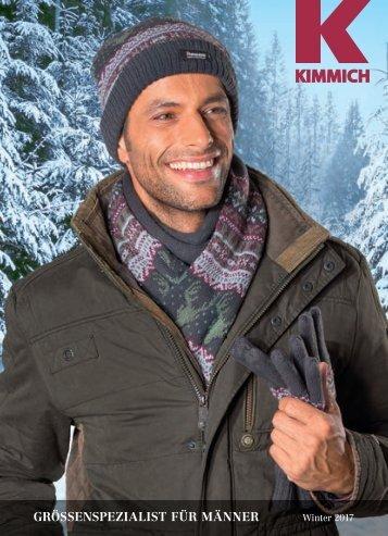 Kimmich Mode-Versand | Größenspezialist für Männermode | Winter 2017