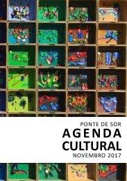 Agenda Cultural de novembro 2017