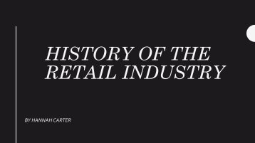 retail history time line