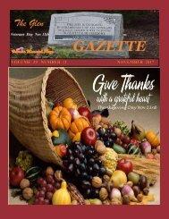 November 2017 Gazette
