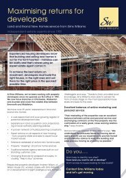 Sims Williams New homes - Newsletter