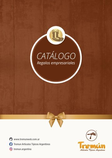 CATALOGO REGALOS EMPRESARIALES