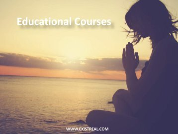 Educational Courses - Positive Living Courses