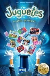 Catálogo Hipercor JUGUETES ¡ LLENOS DE MAGIA !