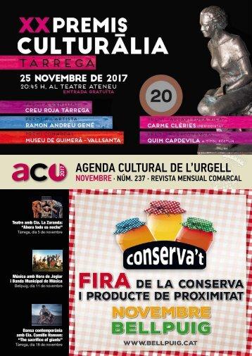 agenda NOVEMBRE 2017
