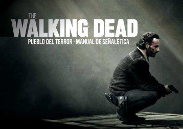 The walking dead-Manual de señalética