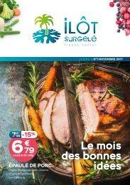 ❄ LE MAG DE L'ILÔT ❄ N°1 - NOVEMBRE 2017