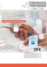 Monatsflyer - November 2017