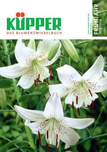 Blumenzwiebelbuch Frühjahr, Saison 2017/18