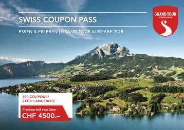 Swiss Coupon Pass 2018 - Deutsch
