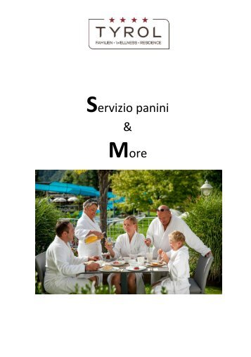 Frühstückskarte 2018 Italienisch